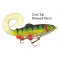Lifelike Baitfish Curly Tail - Stressed Perch