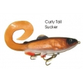 Lifelike Baitfish Curly Tail - Sucker