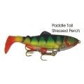 Lifelike Baitfish Paddle Tail - Stressed Perch