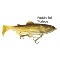 Lifelike Baitfish Paddle Tail - Walleye